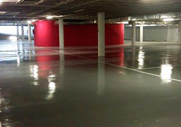 Parking Ayuntamiento de Toledo: pavimentos EPOXI